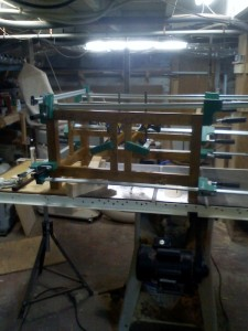 the glue up