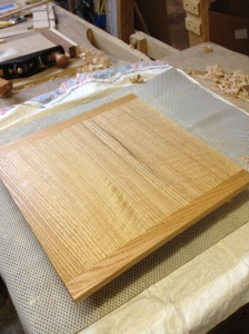 top with breadboard ends