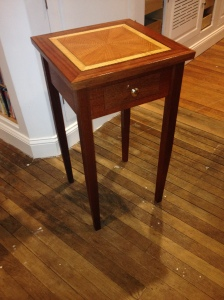 end table with top